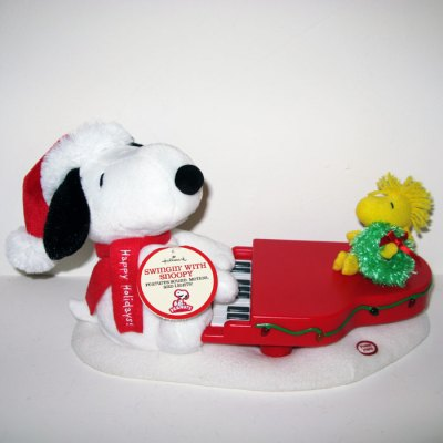 Swinging with Snoopy Animated Plush Doll
