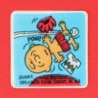 Charlie Brown on Baseball Mound Patch