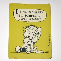 Linus 'I Love Mankind…' Post Card
