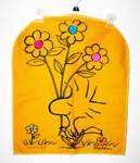 Woodstock holding flowers Pajama Bag