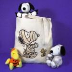 Snoopy & Woodstock Halloween Tote