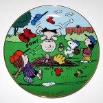 It's a Hit Peanuts Baseball Plate