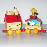 Snoopy Express Train Cars