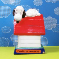 Snoopy on Doghouse Figurescene