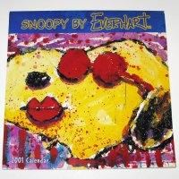 Snoopy by Everhart Calendar - 2001