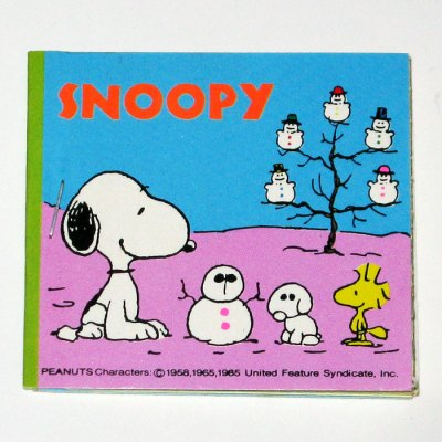 Snoopy Winter Sticker Book