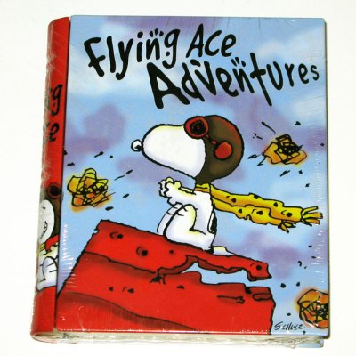 Snoopy Flying Ace Adventures Book Candy Container