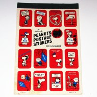 Peanuts Gang Postage Stickers