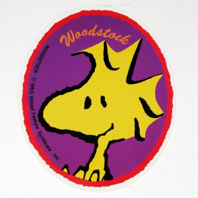 Woodstock Oval Sticker