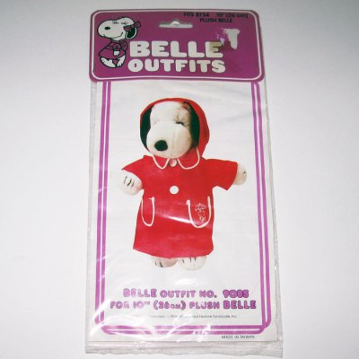 "Belle Rain Slicker Outfit for 10"" Plush"