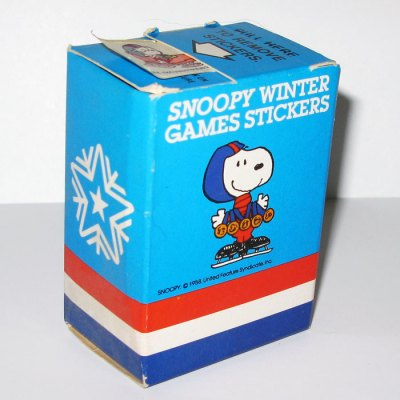 Snoopy Olympic Winter Games Stickers