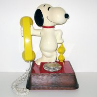 Snoopy Telephone - Clear Dial Phone