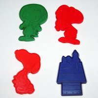 Snoopy Set of Four Cookie Cutters