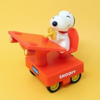 Snoopy Desk Friction Car