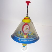Snoopy and Woodstock, Ball Spinning, Stationary Toy Top