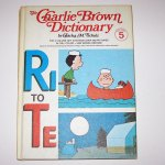 The Charlie Brown Dictionary - 6 Volume Set