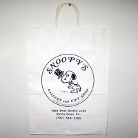 Snoopy's Gallery & Gift Shop Shopping Bag
