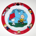 Charlie Brown with Kite Kid's Plate