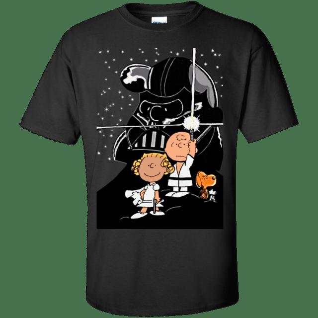 Peanuts X Star Wars Shirt