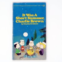 It was a Short Summer, Charlie Brown Book