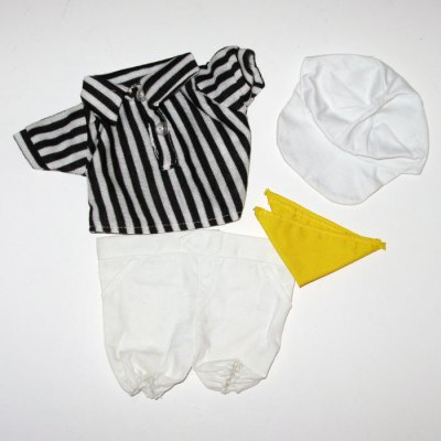 Snoopy Dress-Up Doll Referee Outfit