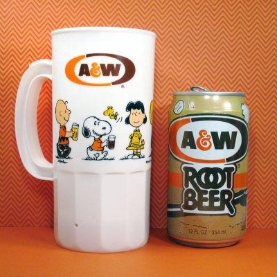Peanuts A&W Root Beer Mug