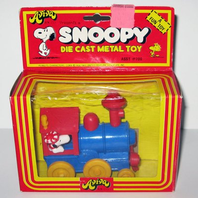 Snoopy Die-cast Train Engine