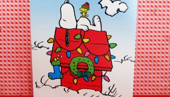 Snoopy Christmas Cards.Santa Snoopy S Christmas In July Sale Collectpeanuts Com