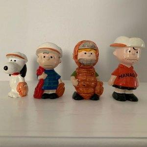 Peanuts Baseball Figurescene