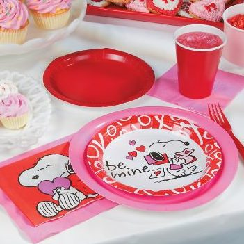 Peanuts Valentine's Day Party