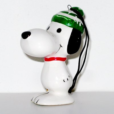 Snoopy with Skiis Christmas Ornament