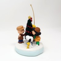 Peanuts Gang Caroling with Christmas Tree Ornament