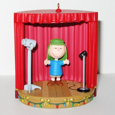 Shephard Linus on Stage Christmas Ornament