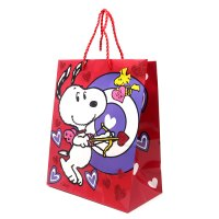 Cupid Snoopy and Woodstock Valentine's Gift Bag