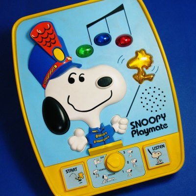 Electronic Snoopy Playmate