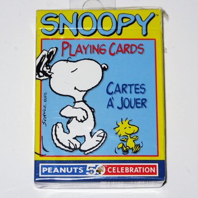 Snoopy & Woodstock Playing Cards