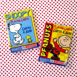 Click to shop Peanuts Playing Cards
