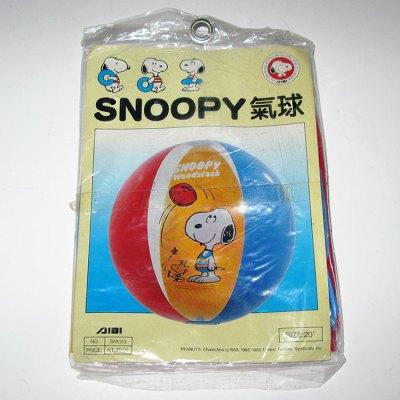 Snoopy & Woodstock Beach Ball