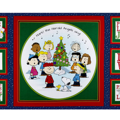 Snoopy Sewing