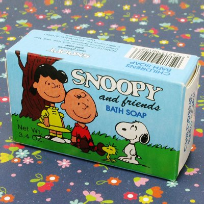 Snoopy & Friends Bath Soap