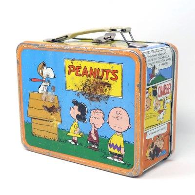Peanuts Gang Metal Lunch Box