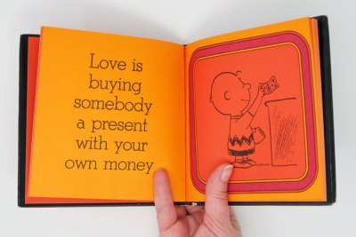 Love is Walking Hand in Hand Peanuts Book