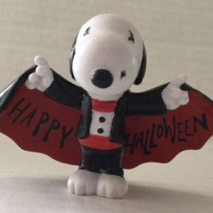 Snoopy Halloween PVC by Applause