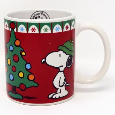 Snoopy Christmas Tree Mug