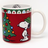 Snoopy Christmas Tree Mug