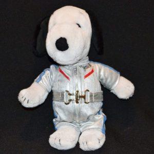 Racecar Driver Snoopy Plush