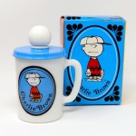 Charlie Brown Avon Shaving Mug with Box