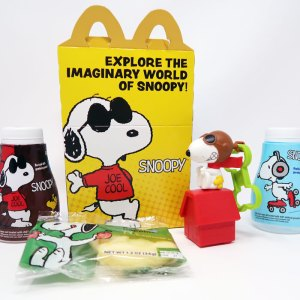 2018 McDonald's Snoopy Happy Meal Toys