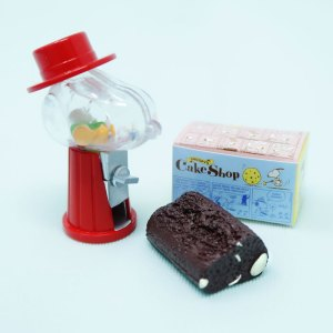 Snoopy's Gumball Machine & Chocolate Cake