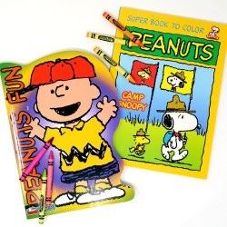Click to view Peanuts Coloring Books